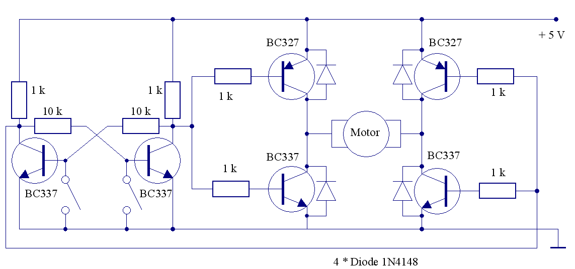 Elektronik-Projekte - Elektronischer Polwender