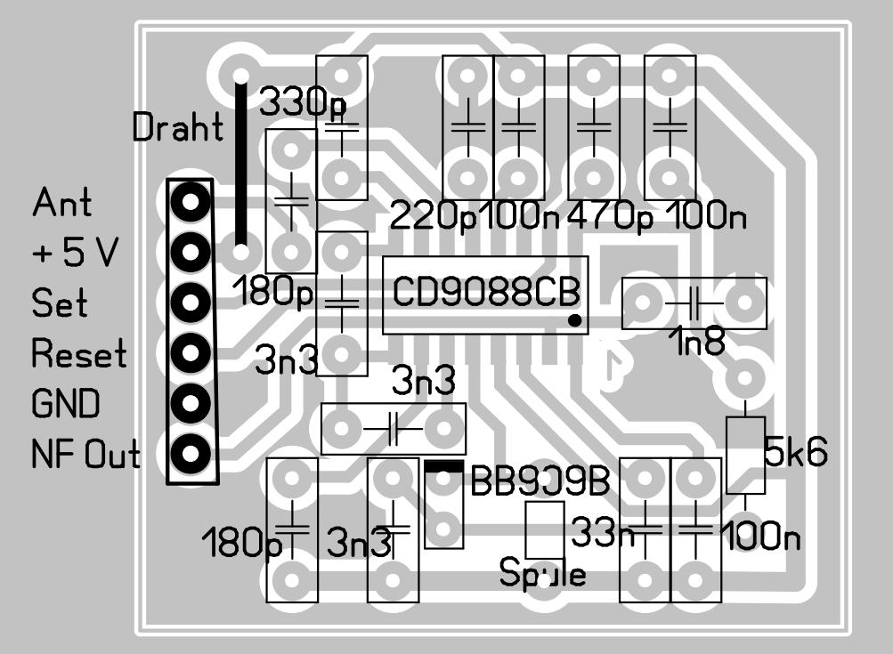 Elektronik-Projekte - Küchenradio