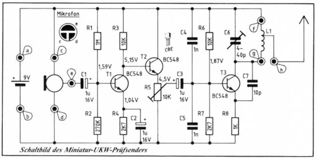 Elektronik-Projekte - UKW-Mikrofon
