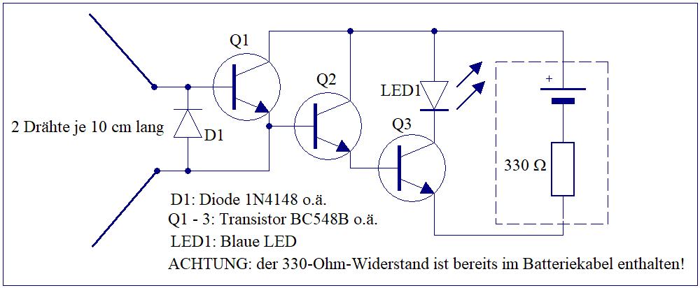 Elektronik-Projekte - Handystrahlen-Detektor*