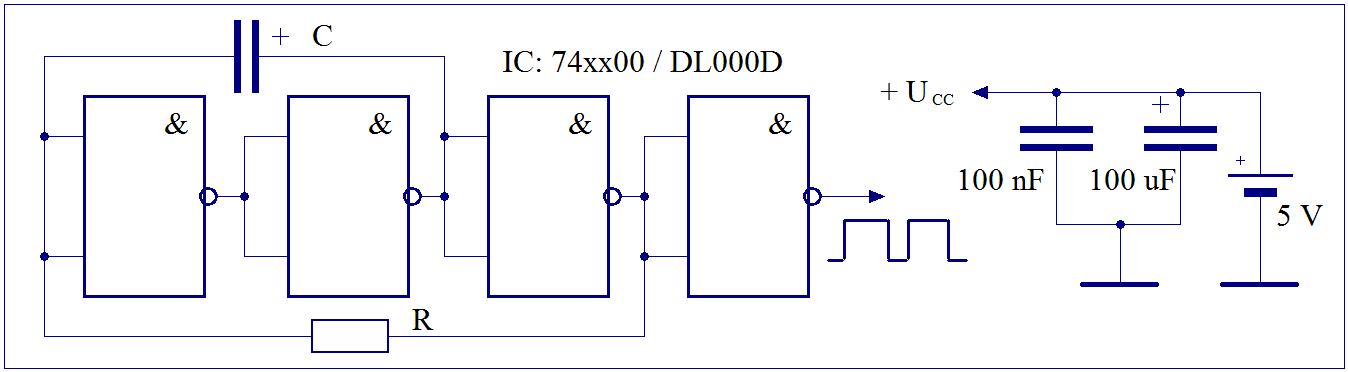Elektronik-Projekte - Taktgeber