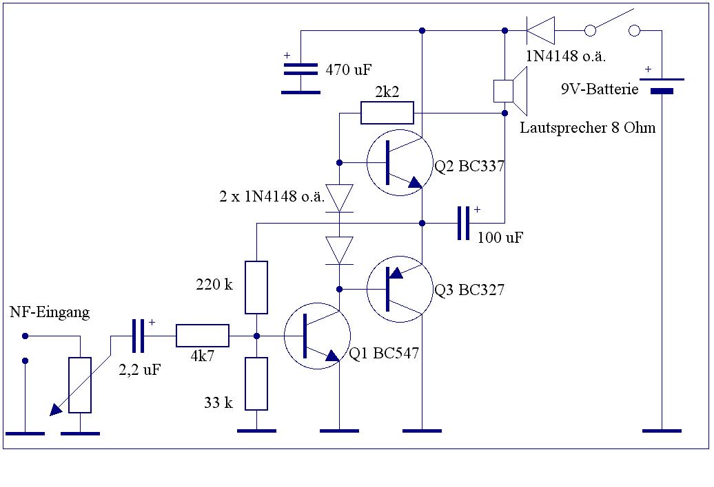 Elektronik-Projekte - Endstufen